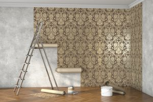 Wallpaper room
