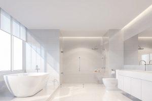 Crisp White Bathroom