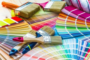 Paint Swatches and Brushes