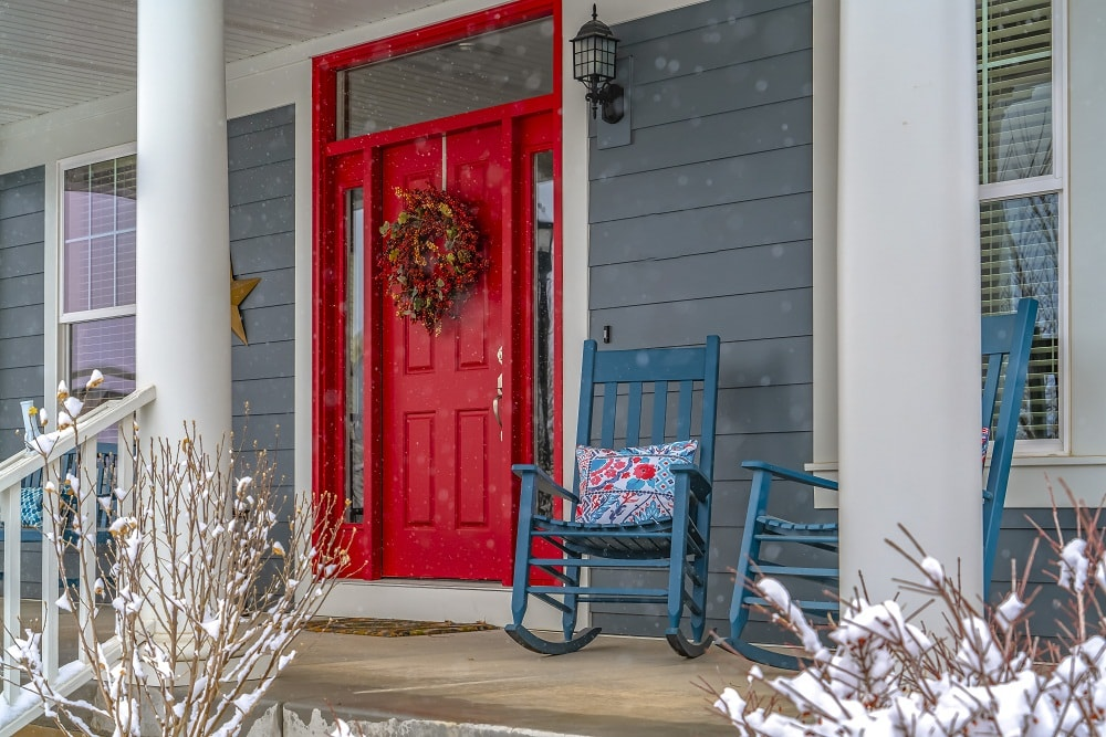 Making Your Front Door Attractive with a Vibrant Paint Color